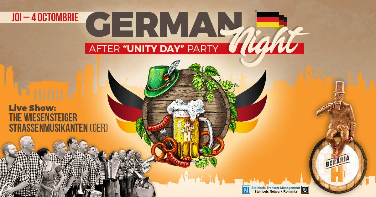 "After ""Unity Day"" Party. Celebrating and Networking in Best German Tradition"
