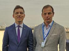 Minister Victor Negrescu and Jürgen Raizner in Sofia