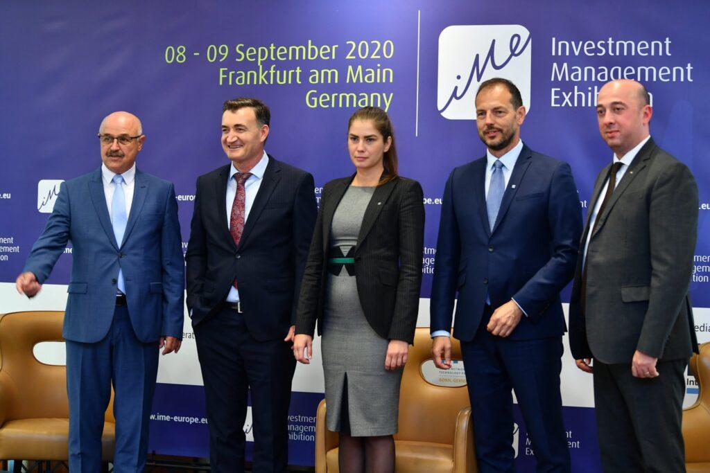 Romanian Delegation with Bekim Xhafa, organiser of IME